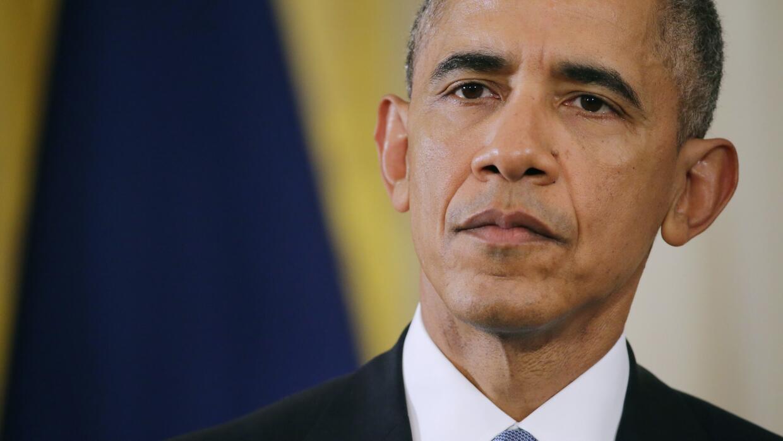 El presidente de EEUU, Barack Obama.