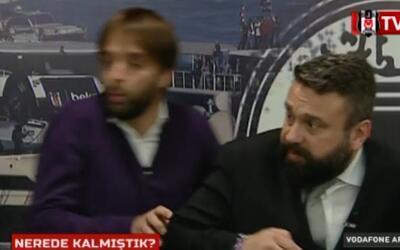 En video: un presentador de TV sale corriendo al escuchar la explosión e...