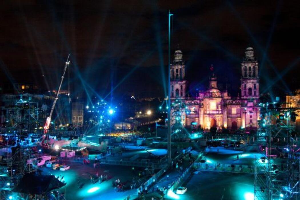 Durante los festejos de la Independencia de México, cada año este recint...