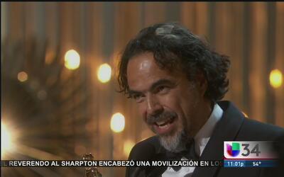 Alejandro González Iñárritu hace historia en los Óscar