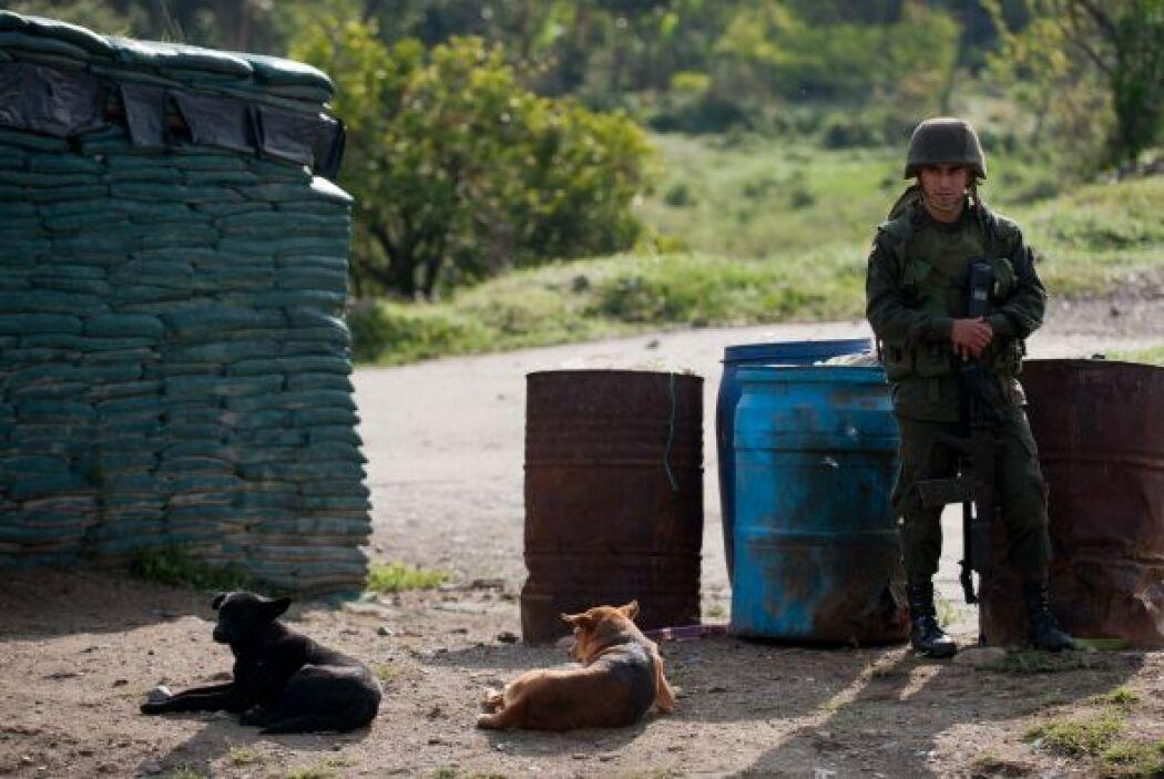 El director de la Policía Nacional de Colombia, el general José Roberto...