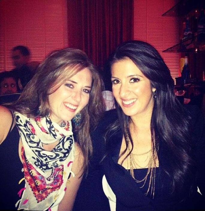 """""""Feliz de reencontrarme con @baconkathleen, pero hace falta @lauris_isa..."""