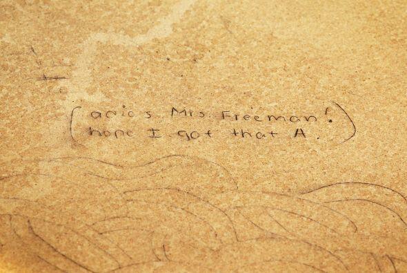 """La instalación es parte de la campaña """"Don't Forget Ed!"""" del College Boa..."""