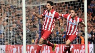 Costa marcó el segundo gol por la vía del penalti.