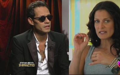 Dayanara Torres y Marc Anthony, cara a cara en la corte