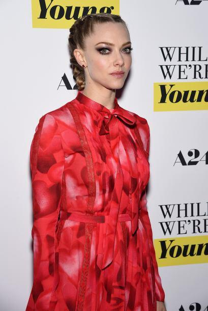 Amanda estrenó su cinta 'While We're Young'.