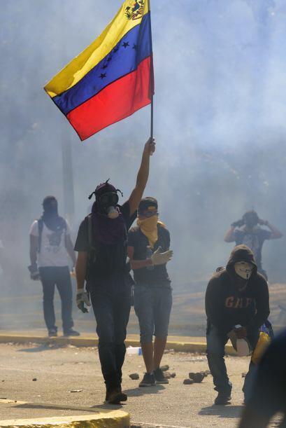 Venezuela está inmersa en un oleada de protestas desde hace un me...