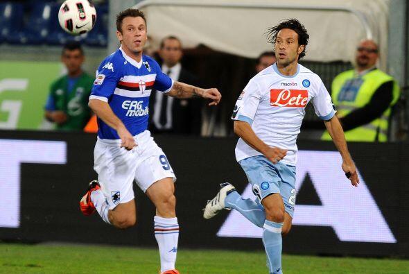 El duelo que cerró la fecha 3 entre Sampdoria y Nápoles no...