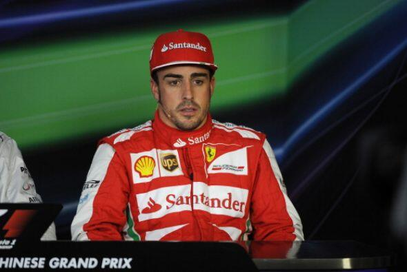 Fernando Alonso logró batir a Felipe Massa por primera vez en el año.