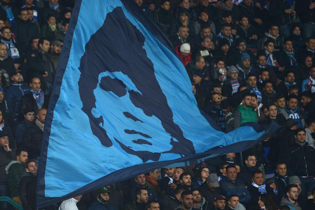 Diego Maradona y Napoli, una historia de amor que cumple 30 años GettyIm...