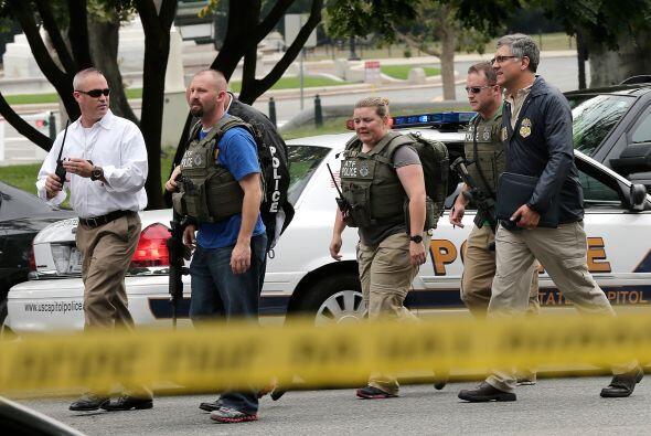 Este jueves se registró un  tiroteo, cuando una mujer intentó burlar la...