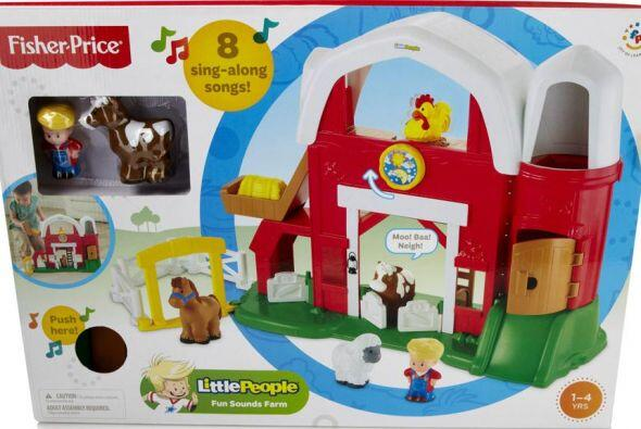 Fisher-Price Little People Fun Sounds Farm Play Set, $22.99