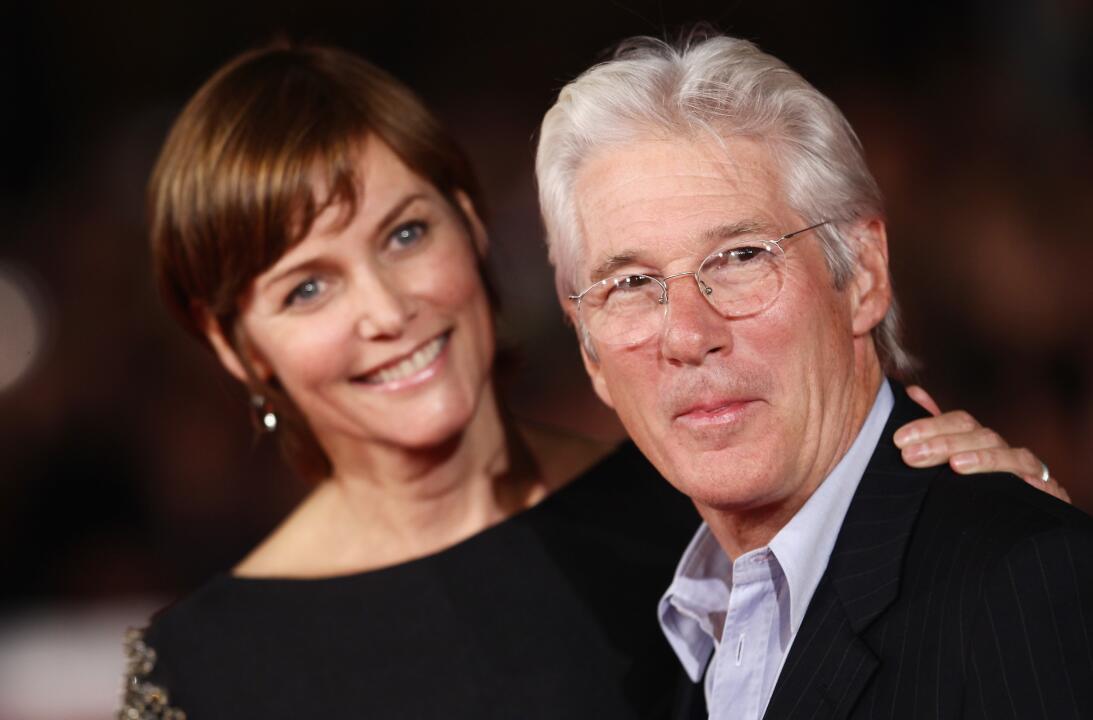 Richard y Carey en el Festival de Cine de Roma en noviembre de 2011.