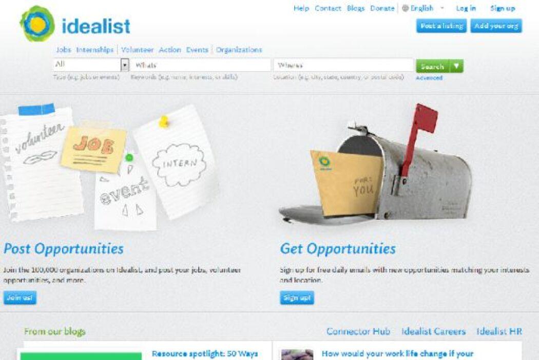 Idealist: No todos están en busca del trabajo por el dinero. Si deseas e...