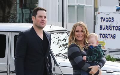 Hilary Duff y Mike Comrie