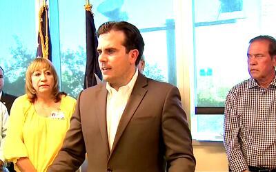 El gobernador de Puerto Rico busca apoyo en Florida para los fondos de s...