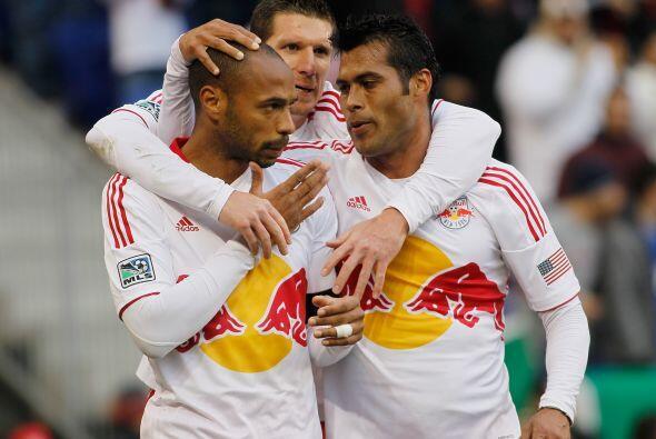 Thierry Henry sigue haciendo historia con el Red Bulls de NY.