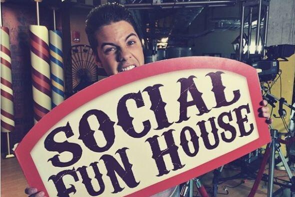 """Im hungry for #Social"", compartió William Valdes. (Julio 15, 2014)"
