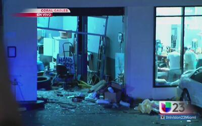 Explosión en una gasolinera de Coral Gables cobra vida de un hombre