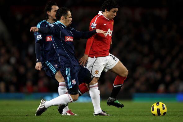 El partido fue más complicado de lo esperado para el Manchester U...