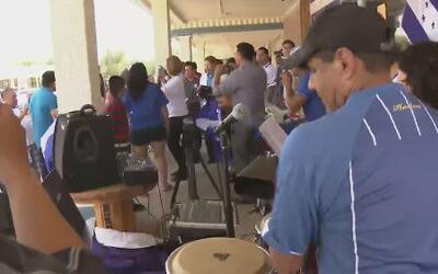 Hondureños celebraron aunque perdieron