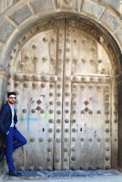Vacaciones de Impacto: Jomari Goyso se fue a La Rioja,España y pasó uno...