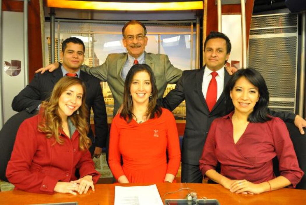 Noticias 62 se vistió de rojo en el mes del corazón