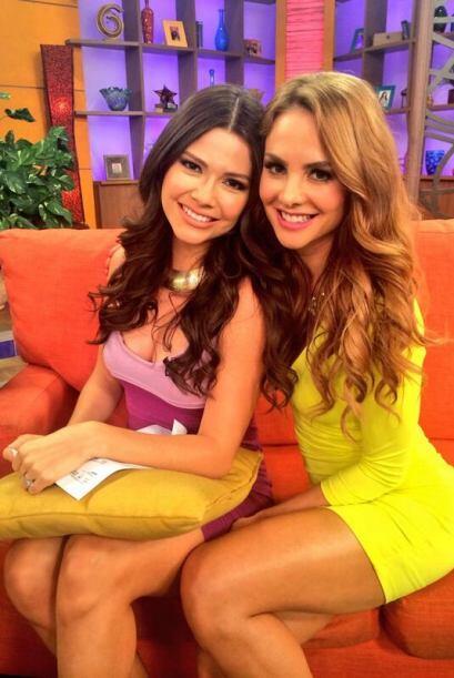"""""""Una fotico con la hermosa y talentosa @AnaPatriciaTV en @DespiertaAmeri..."""