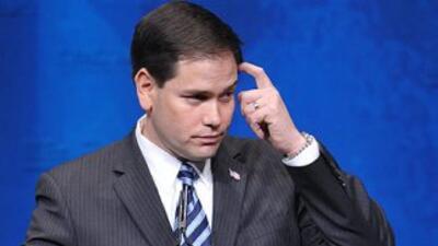 Al referirse al problema de la inmigración indocumentada, el senador Mar...