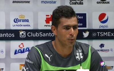 Oswaldo Sánchez, feliz por volver a casa