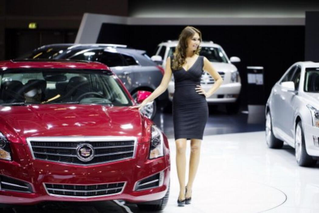 La belleza está siempre presente en los Autoshows más importantes, y lóg...