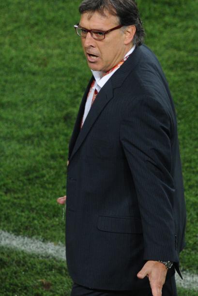 El argentino Gerardo Martino se puede sentir dichoso, Paraguay hizo un b...