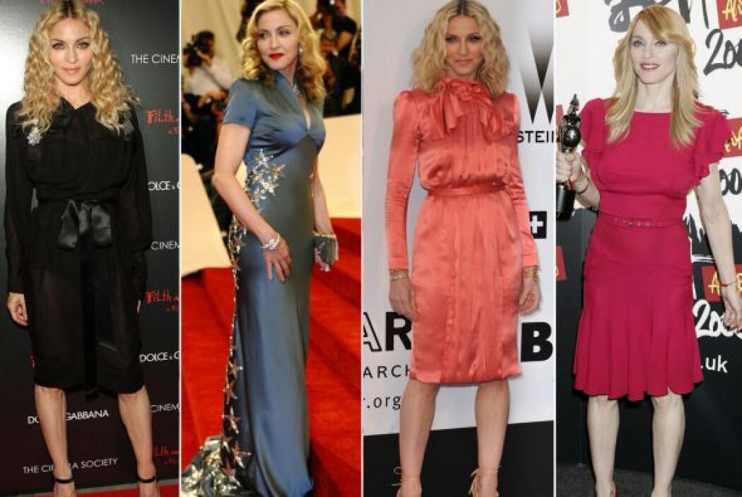 """No todas las """"garritas"""" de la """"Reina del Pop"""" son horribles, la cantante..."""