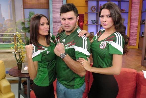 En Despierta nos encanta el fútbol y Karla, Paul y Ana estaban listos pa...