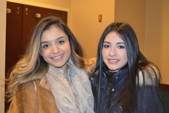 Las chicas más bellas de Chicago se dieron cita en elHotel...