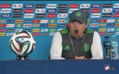 México repetirá alineación contra Brasil