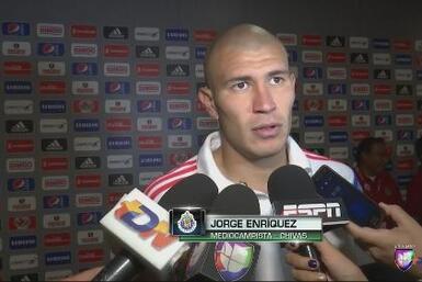 """Jorge Enríquez: """"Salimos con la cara en alto"""""""