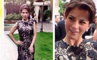 Así lució Alessandra Rosaldo en la alfombra roja de los Golden Globes