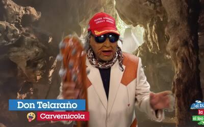 Don Telaraño corona al Chicharito Hernández como nuevo rey de los cavern...