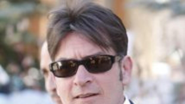 El polémico actorCharlie Sheen.