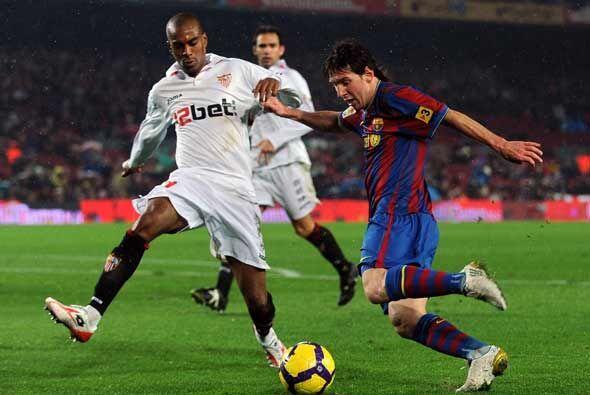 El Sevilla planteó un buen partido y le jugó de tú a tú al hexacampeón.