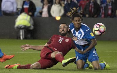 'Hat-trick' de Clint Dempsey frente a Honduras.