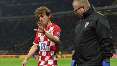 Luka Modric lesionado, es baja ante Malta