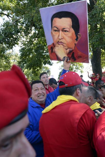 El presidente venezolano no dejó de lado la oportunidad de acusar a su r...