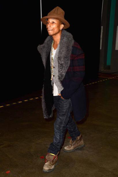 5.-El 2005 Pharrell fue nombrado como el hombre mejor vestido en el mund...