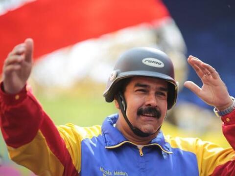 Nicolás Maduro participó en un acto con motociclistas en C...