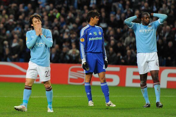 El Manchester City perdió en su primer encuentro ante el Dynamo d...