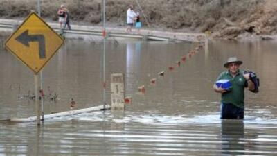 Australia está azotada por las intensas lluvias que han generado inundac...