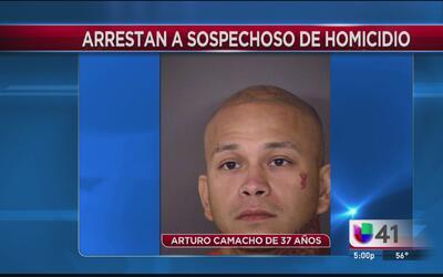 Autoridades arrestan a un sospechoso de homicidio