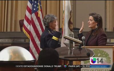 Nueva jefa de policía en Oakland